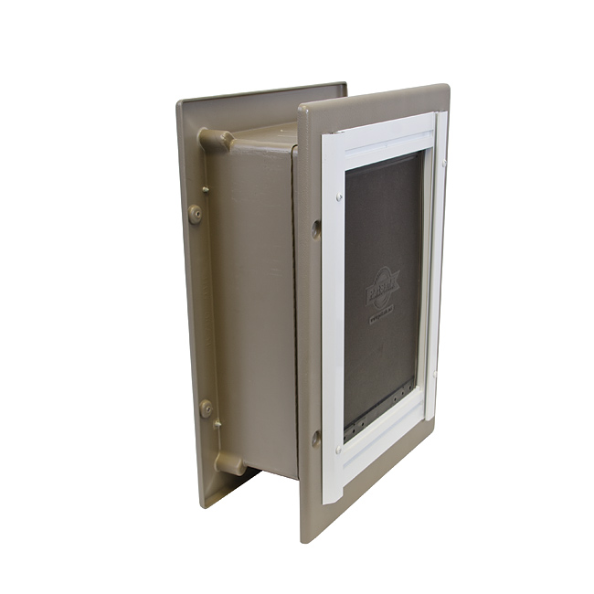 Wall Entry Aluminum Pet Door™ by PetSafe GRP WALL