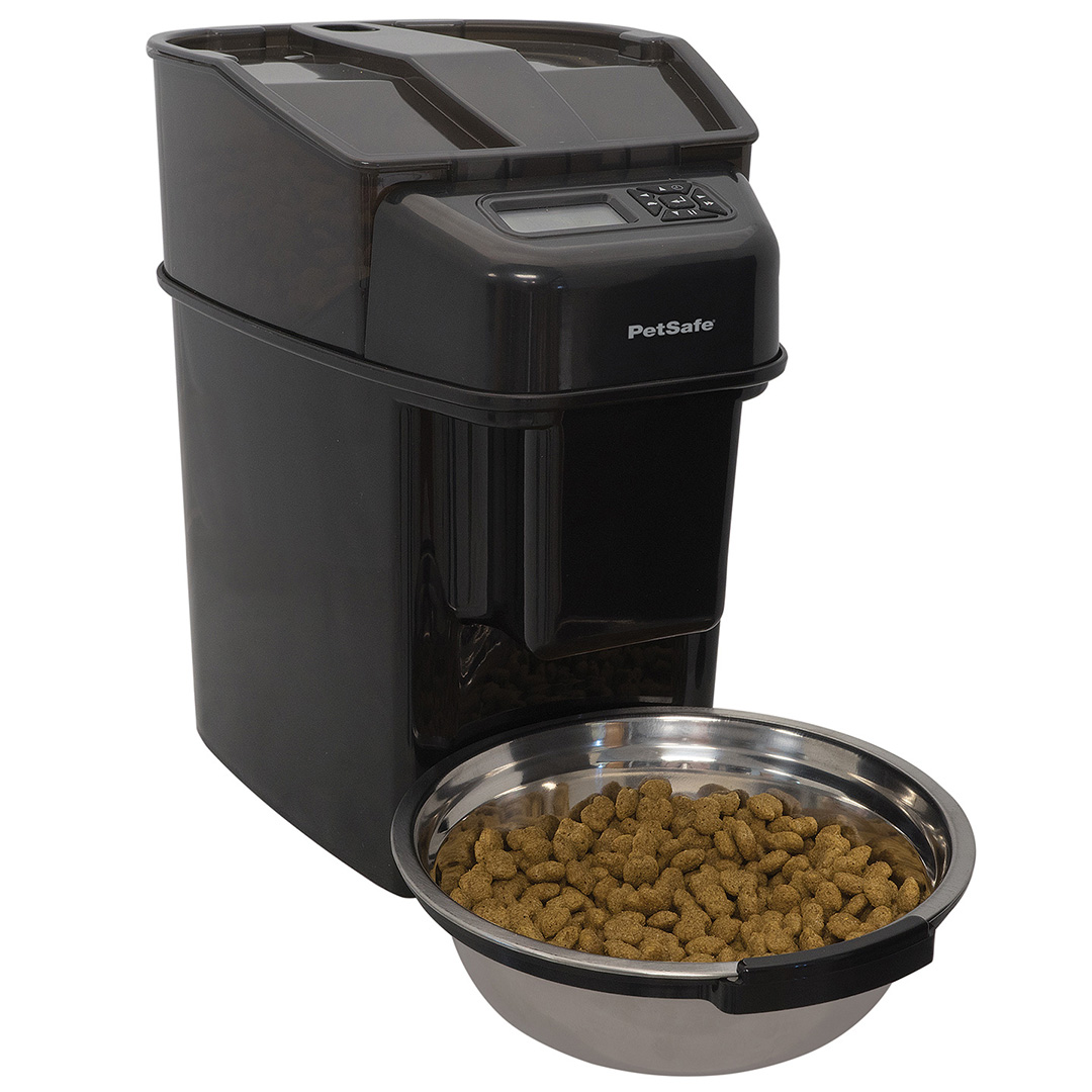 Automatic Cat Dry Food Feeder